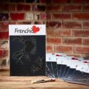 Frenchic A4 Stencil Swallows In Love